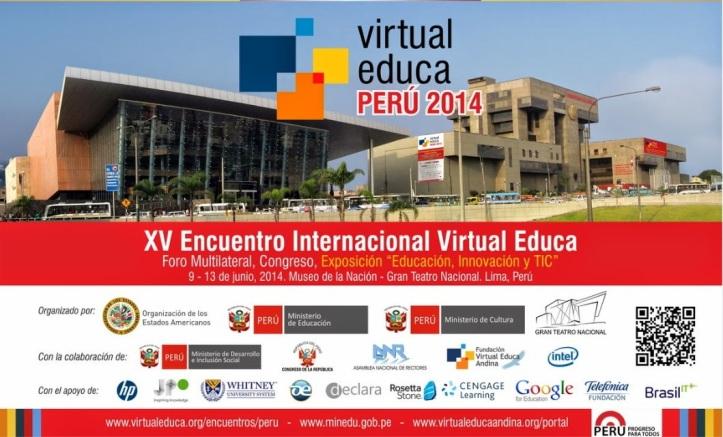 virtual educa Perú 2014